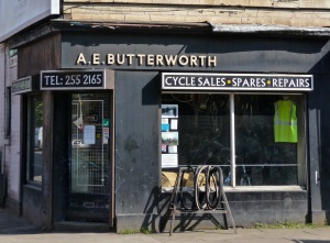 A E Butterworth.  Sheffield S7