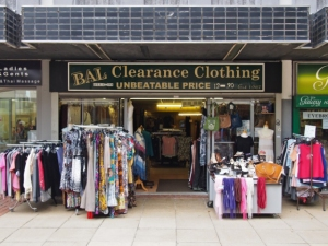 Bal Clearance Clothing.  Sheffield S1