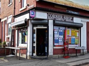 Corner Shop.  Sheffield S8