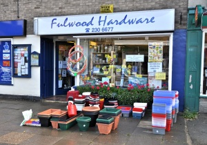 Fulwood Hardware. Sheffield S10