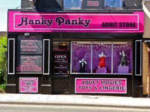 Hanky Panky.  Sheffield S9