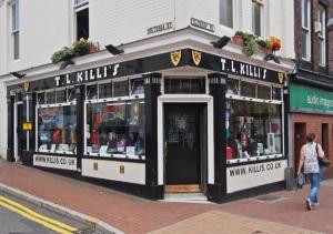 T L Killi's.  Sheffield S1