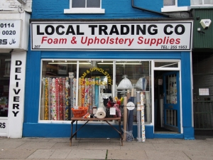 Local Trading Co, Foam and Upholstery Supplies, Sheffield S2