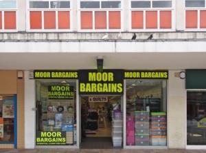 Moor Bargains.  Sheffield S1