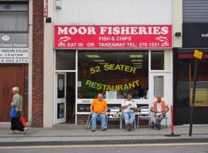 Moor Fisheries.  Sheffield S1