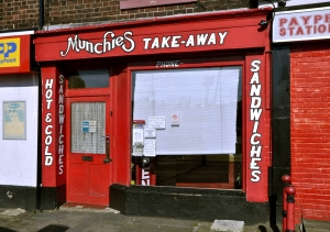 Munchies Take-Away.  Sheffield S2