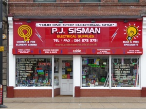 P J Sisman.  Sheffield S3