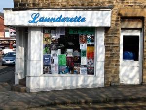 Sharrow Vale Launderette.  Sheffield S11