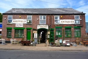Sheffield Antiques Centre.  Sheffield S8