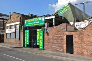 Tarzans Tyres.  Sheffield S1