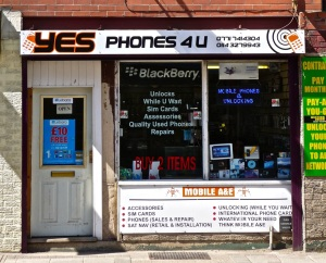 Yes Phones 4 U.  Sheffield S9