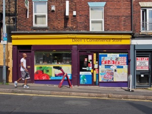 Deens Convenience Store.  Sheffield S10