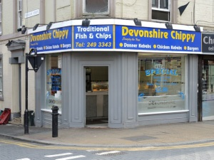 Devonshire Chippy. Sheffield S3