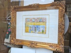 The Framery in Gold Frame
