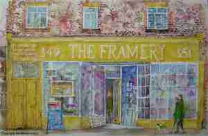 The Framery by Victoria Butterell