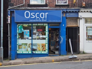 Oscar News and Convenience Store Sheffield S10