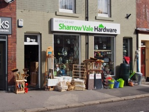 Sharrow Vale Hardware.  Sheffield S11