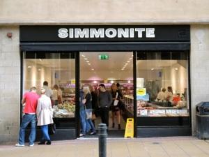 Simmonite Fishmongers.  Sheffield S1