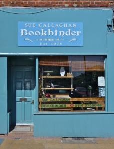 Sue Callaghan Bookbinder.  Sheffield S3
