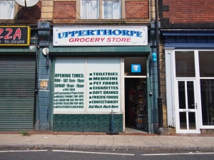 Upperthorpe Grocery Store.  Sheffield S6