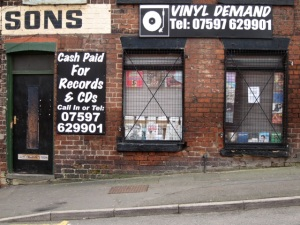 Vinyl Demand, Rockingham St.  Sheffield S1