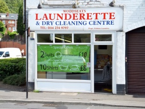 Woodseats Launderette.  Sheffield S8