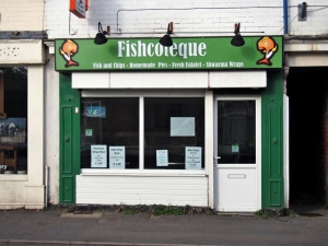 Fishcoteque.  Sheffield S11