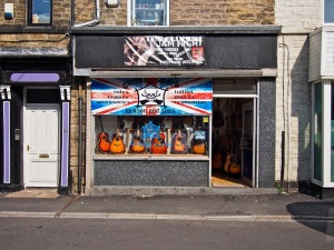 Guitar Shack.  Sheffield S6