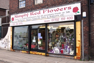 Simply Red Flowers.  Sheffield S12
