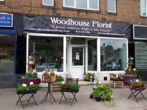 Woodhouse Florist.  Sheffield S7