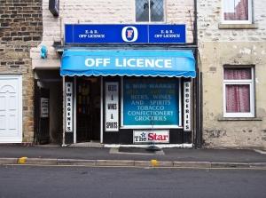 E R Off Licence.  S6