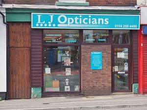 L J Opticians  Sheffield S8