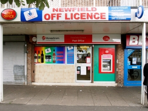 Newfield Off Licence.  S2