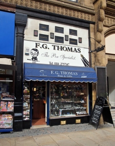 F G Thomas, Sheffield