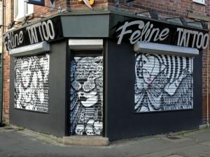 Feline Tattoo Shutter 2