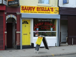Saucy Stella's Attercliffe Sheffield
