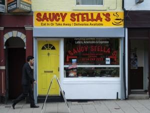 Saucy Stella's Attercliffe Sheffield