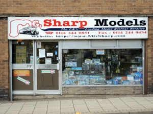 Sharp Models Attercliffe Sheffield