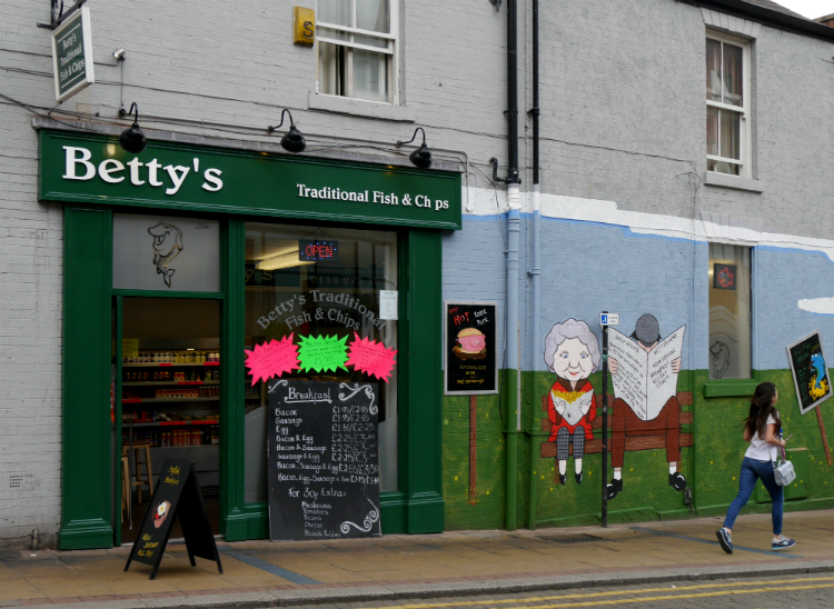 Betty s traditional fish chips 1 fitzwilliam street for Bettys fish and chips