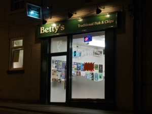 6. Betty's Traditional Fish And Chips Sheffield