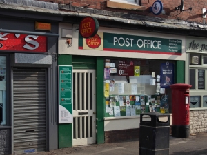 Sharrow Vale Post Office, Sharrow Vale Road, Sheffield S11