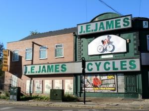 J E James Cycles Sheffield