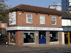 Harrison Cameras Shop, London Road Sheffield