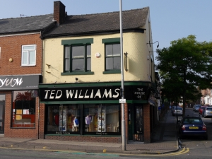 Ted Williams The Tailors, London Road Sheffield