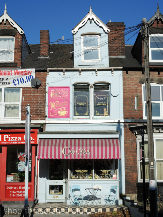 1. Cocoa Wonderland, 462 Ecclesall Road, Sheffield