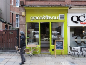 1. Grace & Flavour, 10 Orchard Street, Sheffield,  S1 2GX