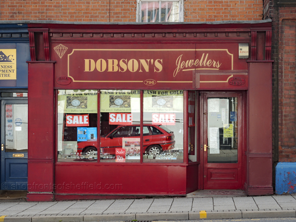 Dobsons Jewellery, 796 Attercliffe Road Sheffield S9