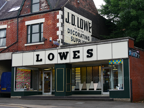 2. Lowes 624 Abbeydale Road Sheffield S7 2BA ©shopfrontsofsheffield 2017 | P1030241 S SFoS
