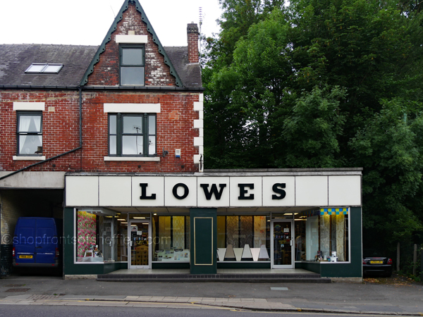3. Lowes 624 Abbeydale Road Sheffield S7 2BA ©shopfrontsofsheffield 2017 | P1030242E S SFoS