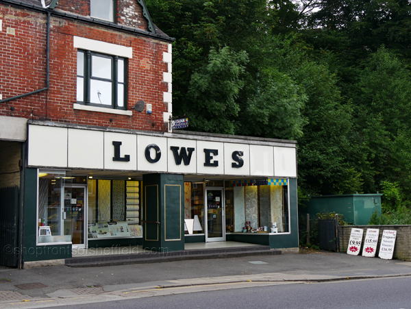 4. Lowes 624 Abbeydale Road Sheffield S7 2BA ©shopfrontsofsheffield 2017 | P1030243 S SFoS